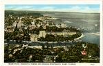 Miami River, Henrietta Towers and Granada Apartments Miami, Florida.