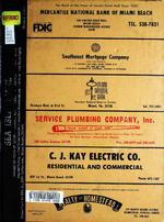 polk\u0027s miami beach (dade county, fla ) city directory, 1972  Billig Global Agency Schwarz Geldbrse Herren Outlet P 2280 #13