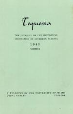 Tequesta: The Journal of the Historical Association of Southern