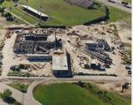 Wertheim Performing Arts Center Construction Aerial